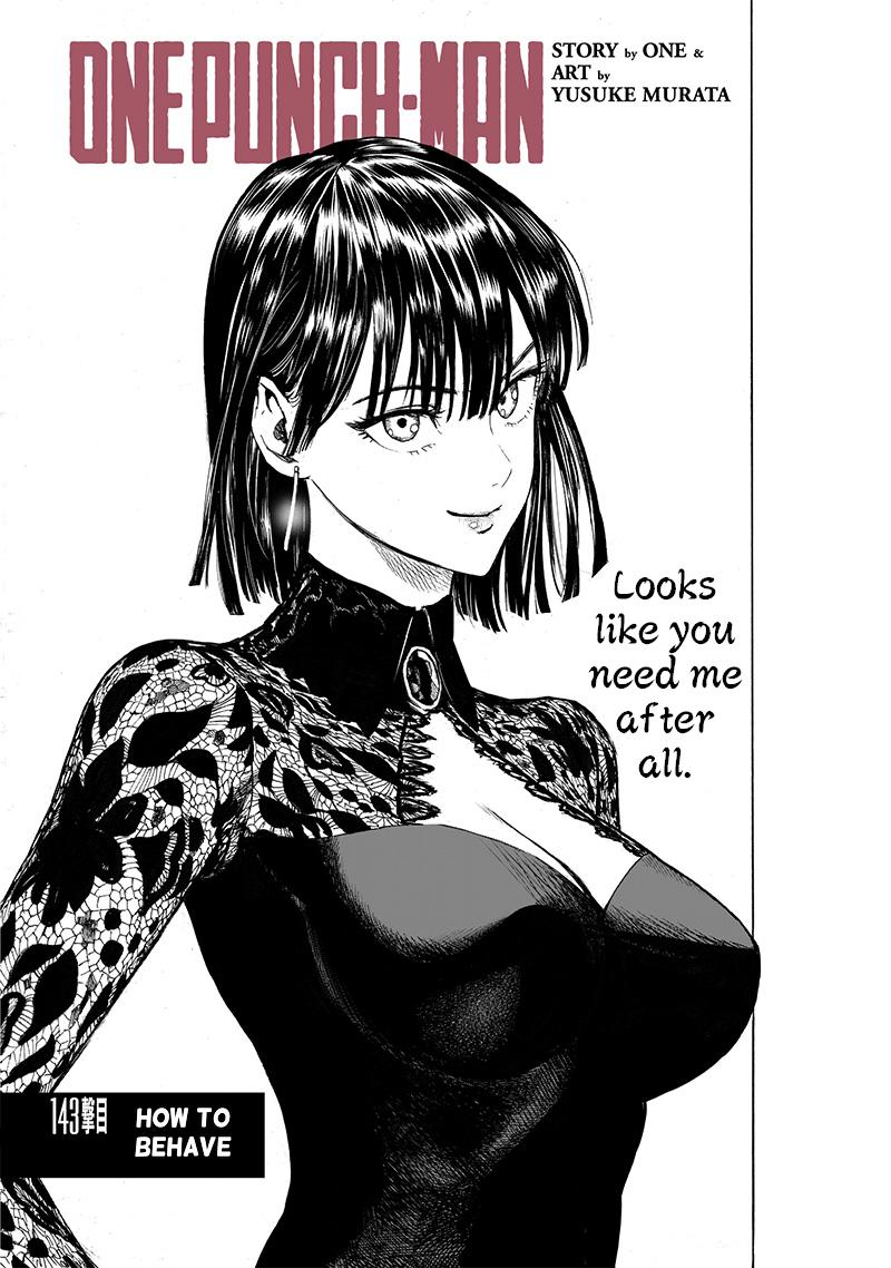 One-Punch Man, Chapter 142 image 001