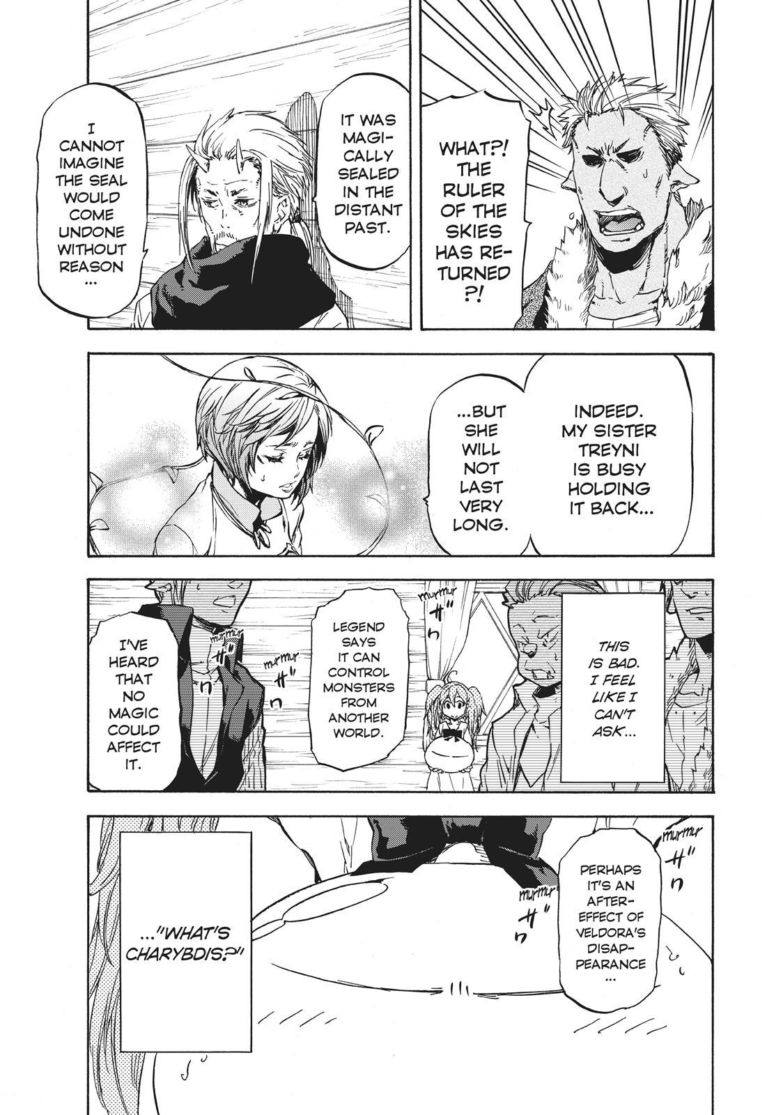 Tensei shitara Slime Datta Ken, Chapter 37 image 001