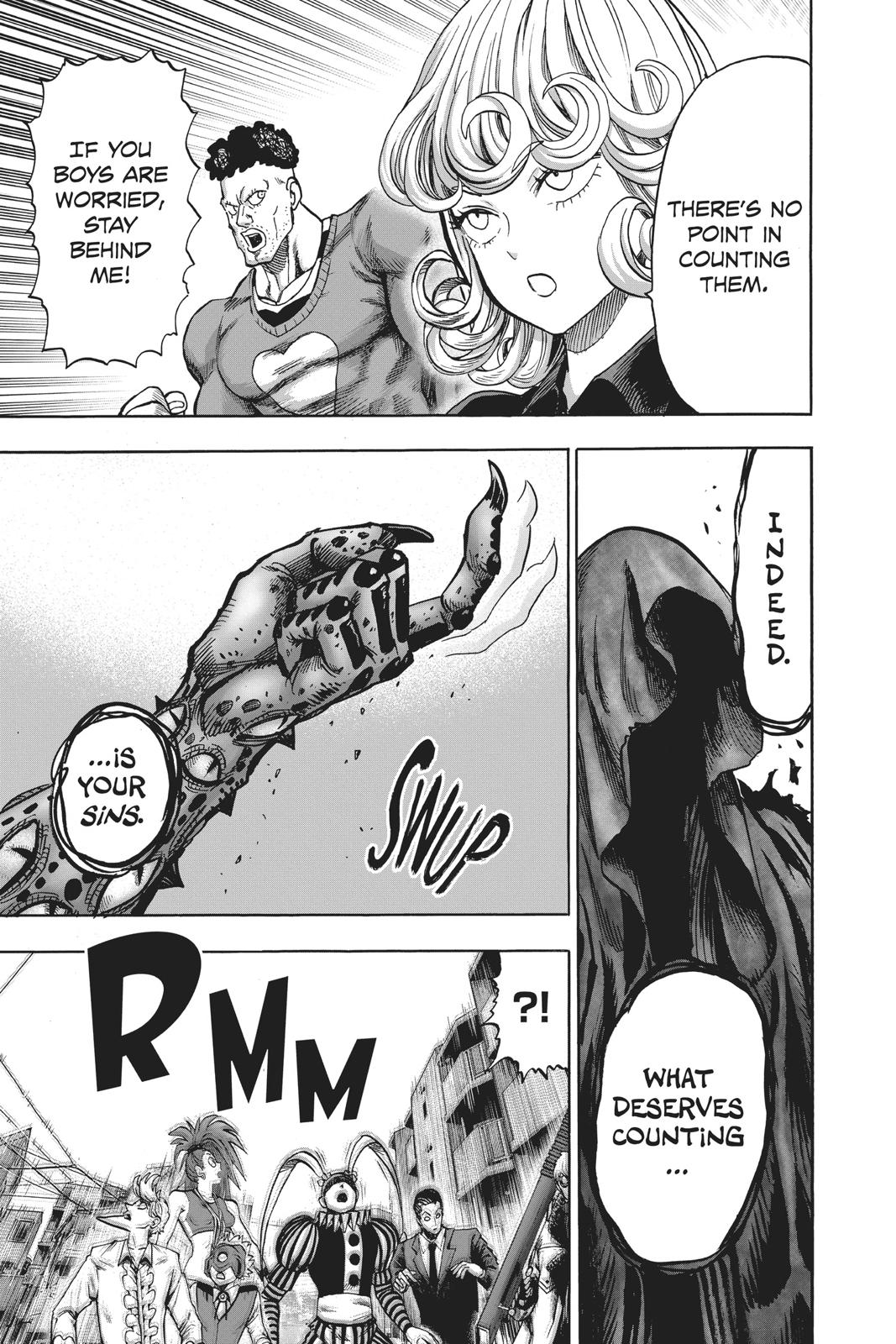 One-Punch Man, Chapter 96 image 016
