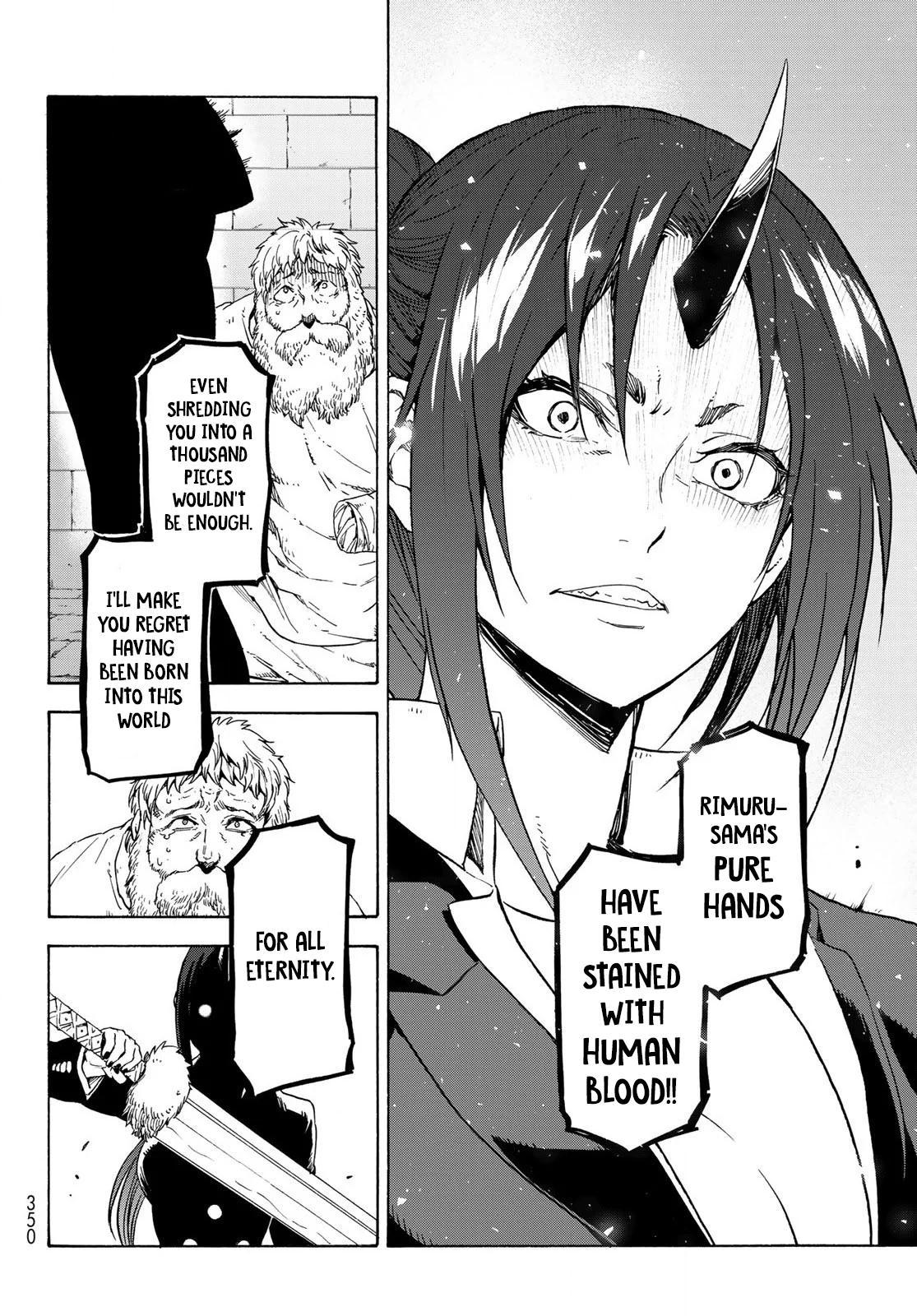 Tensei shitara Slime Datta Ken, Chapter 73 image 036