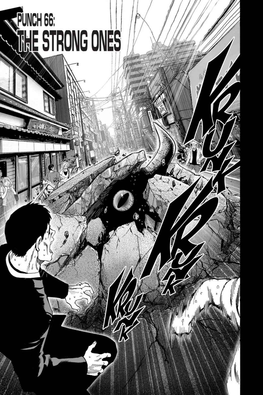 One-Punch Man, Chapter 66 image 001