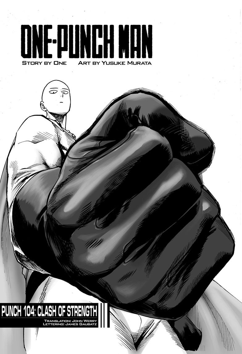 One-Punch Man, Chapter 104 image 001