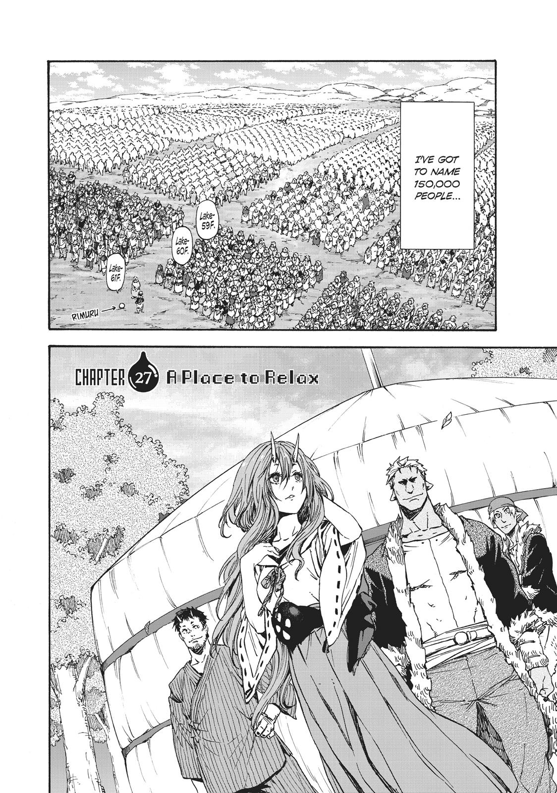 Tensei shitara Slime Datta Ken, Chapter 27 image 002