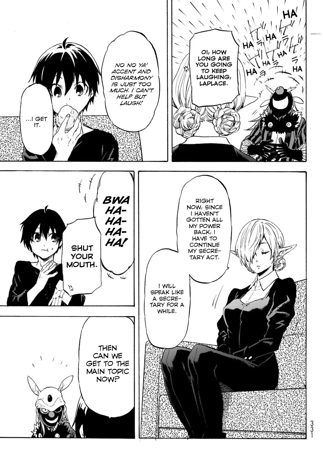 Tensei shitara Slime Datta Ken, Chapter 73 image 017