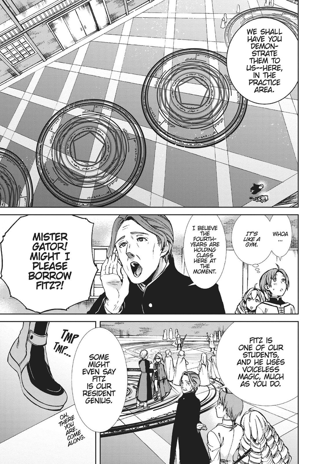 Mushoku Tensei, Chapter 54 image 011