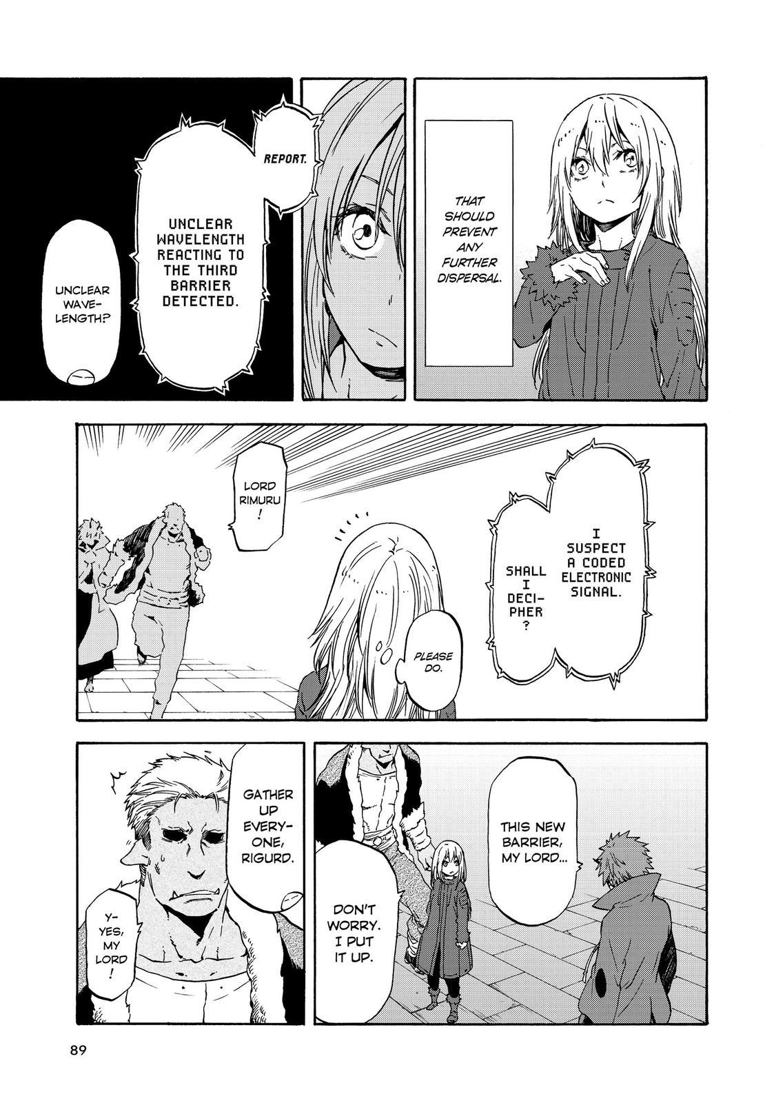 Tensei shitara Slime Datta Ken, Chapter 61 image 003