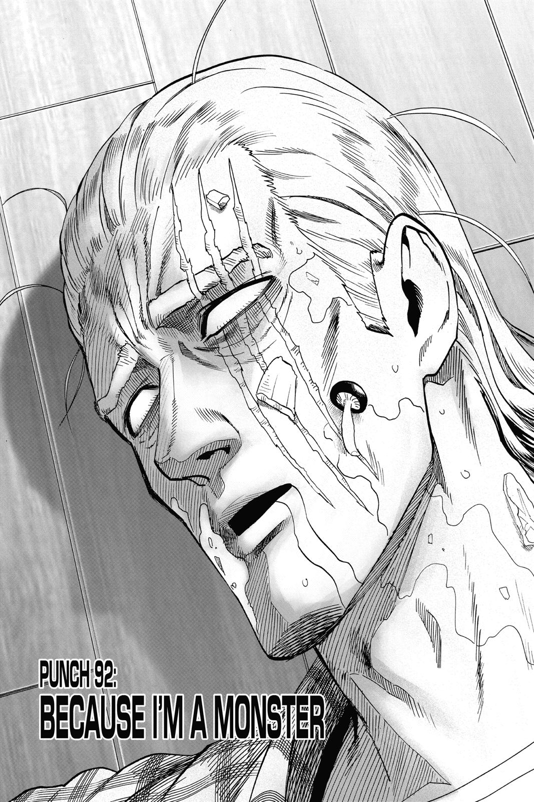 One-Punch Man, Chapter 92 image 001