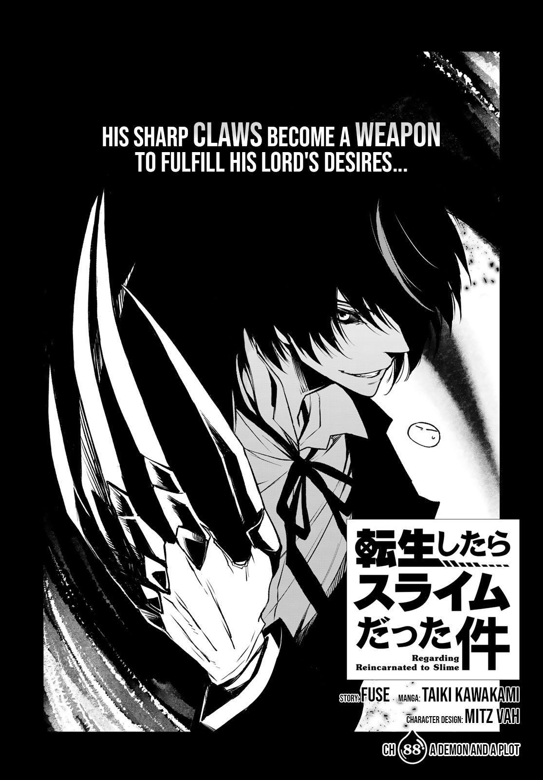 Tensei shitara Slime Datta Ken, Chapter 88 image 02