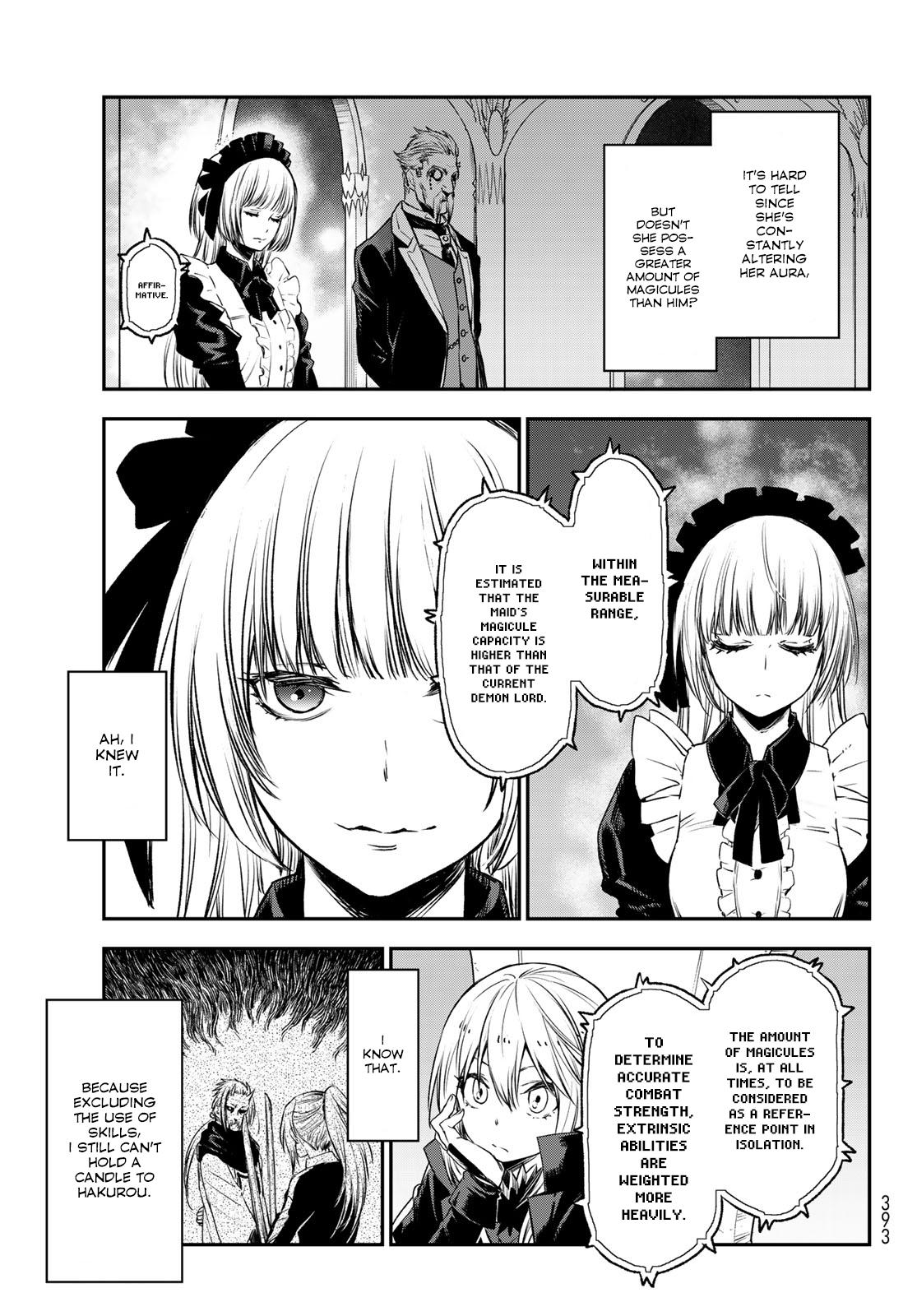 Tensei shitara Slime Datta Ken, Chapter 78 image 009
