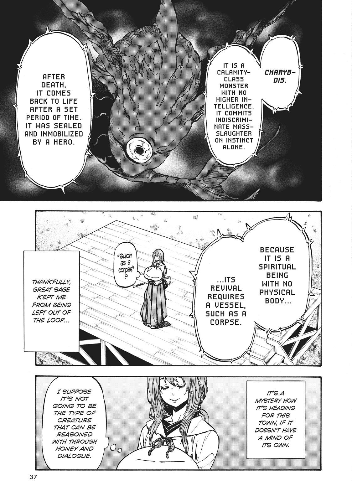 Tensei shitara Slime Datta Ken, Chapter 37 image 003