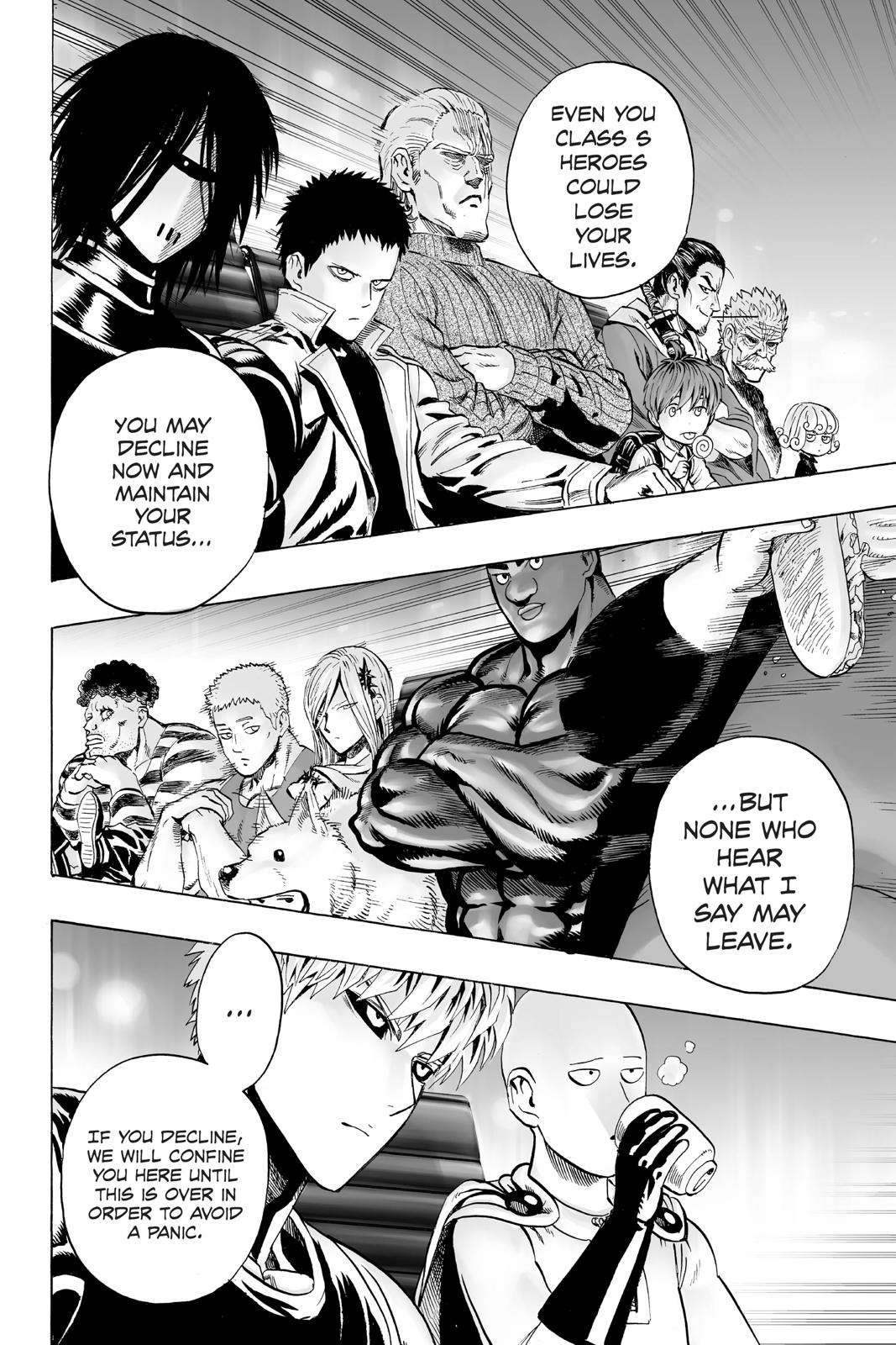One-Punch Man, Chapter 31 image 003