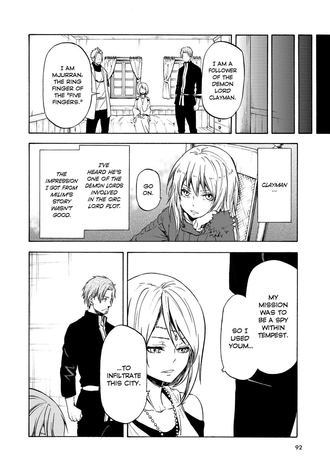 Tensei shitara Slime Datta Ken, Chapter 61 image 006