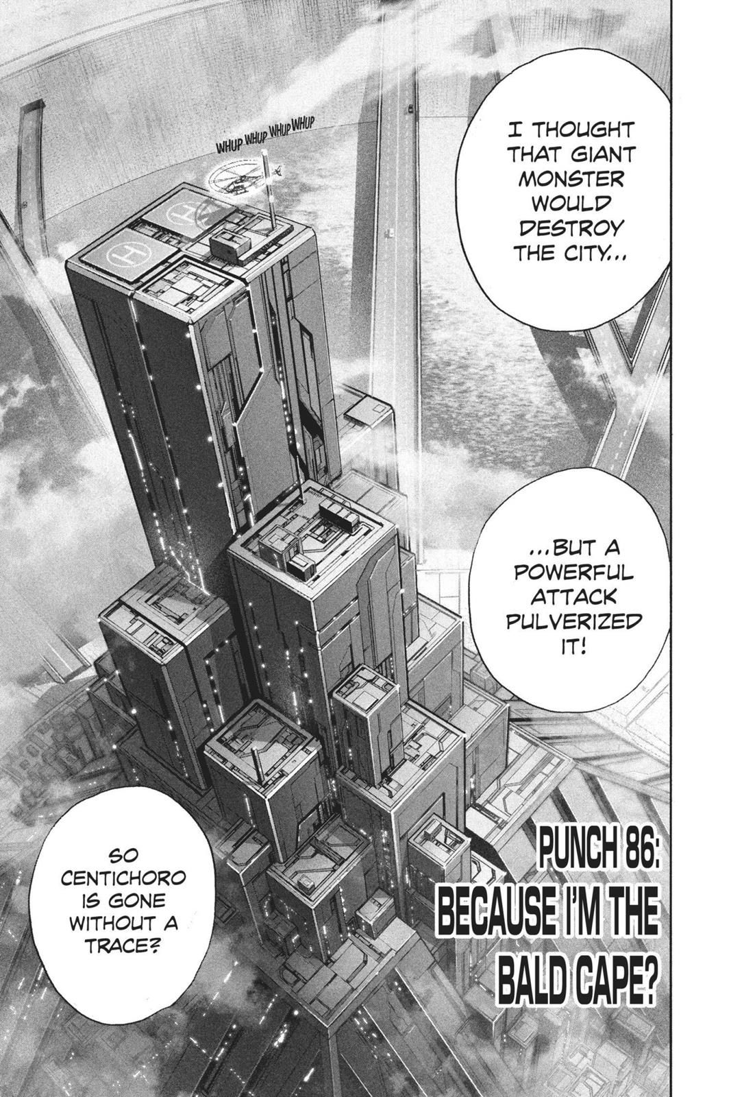 One-Punch Man, Chapter 86 image 001