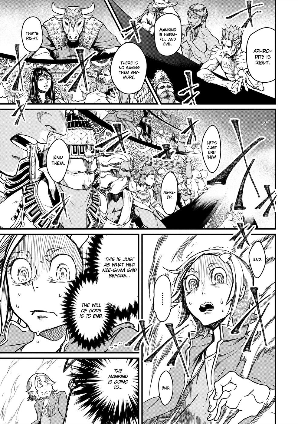 Shuumatsu no Valkyrie, Chapter 1 image 014
