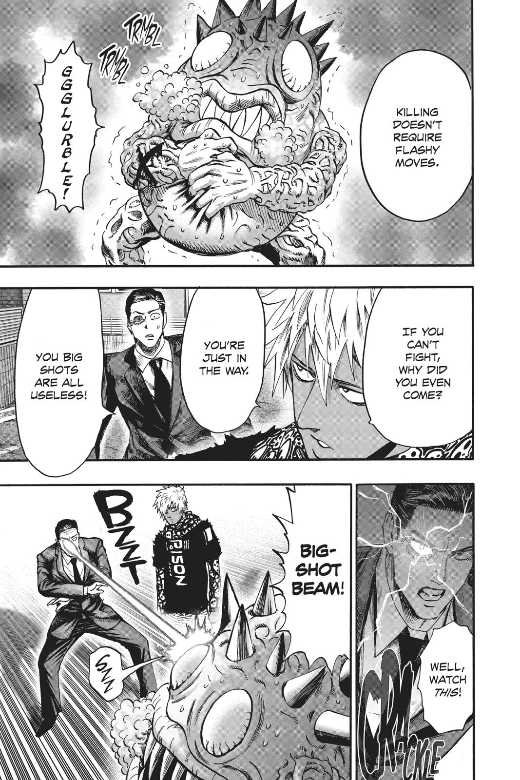 One-Punch Man, Chapter 96 image 087