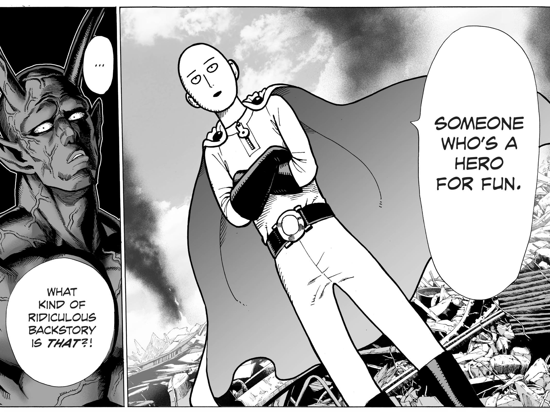 One-Punch Man, Chapter 1 image 018