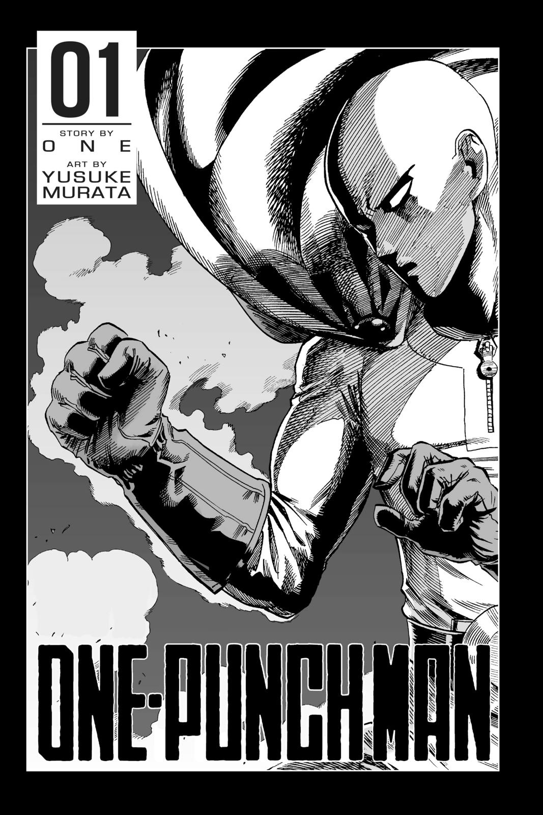 One-Punch Man, Chapter 1 image 004