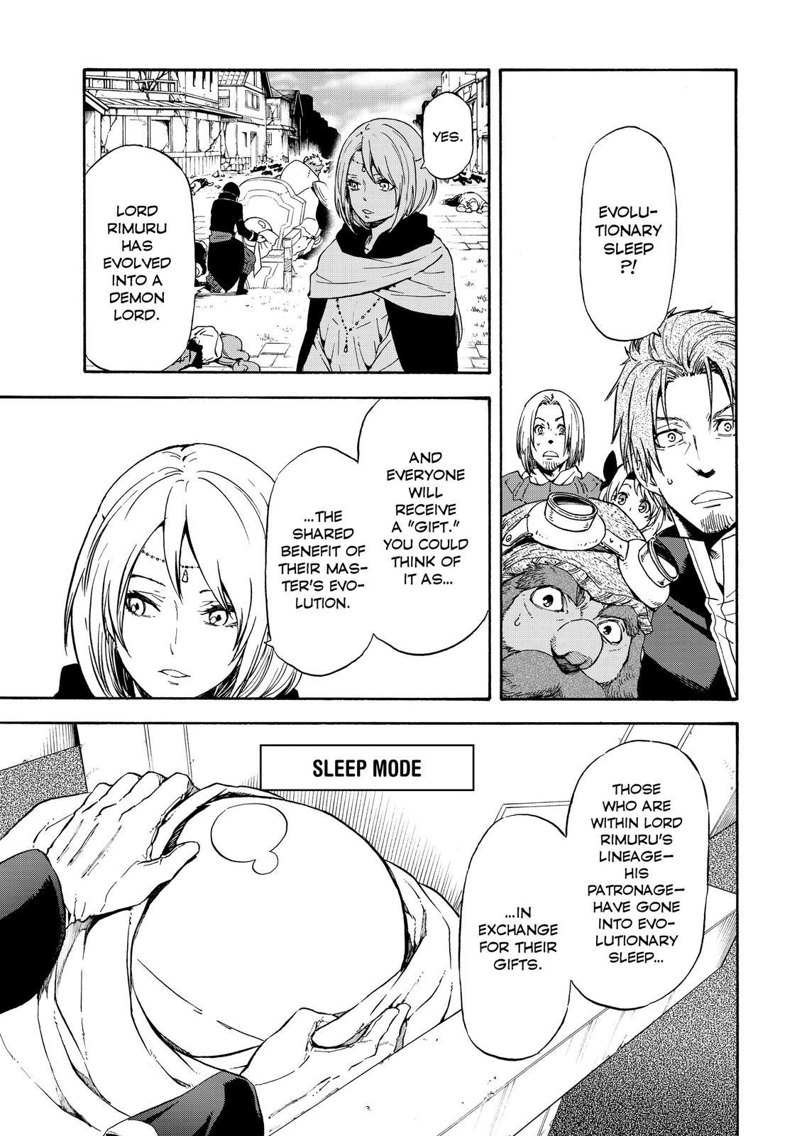 Tensei shitara Slime Datta Ken, Chapter 69 image 001