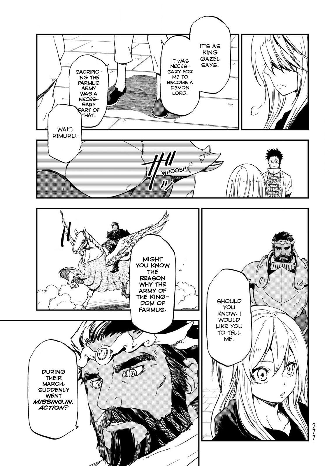Tensei shitara Slime Datta Ken, Chapter 74 image 009