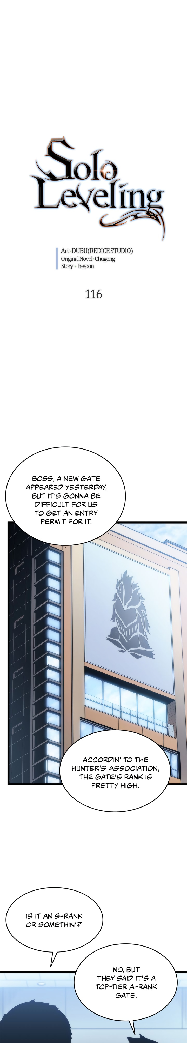 Solo Leveling, Chapter 116 image 001