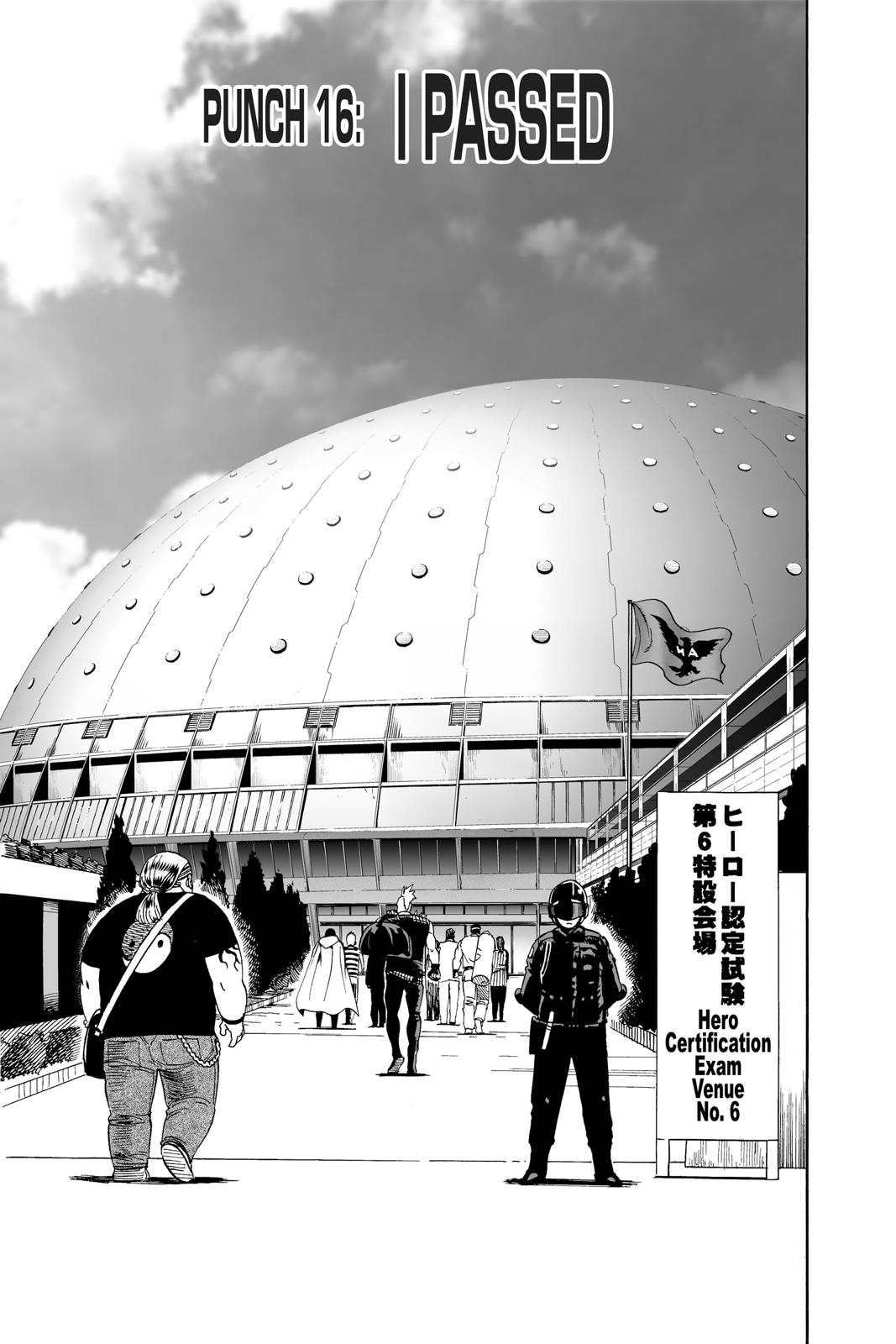 One-Punch Man, Chapter 16 image 007