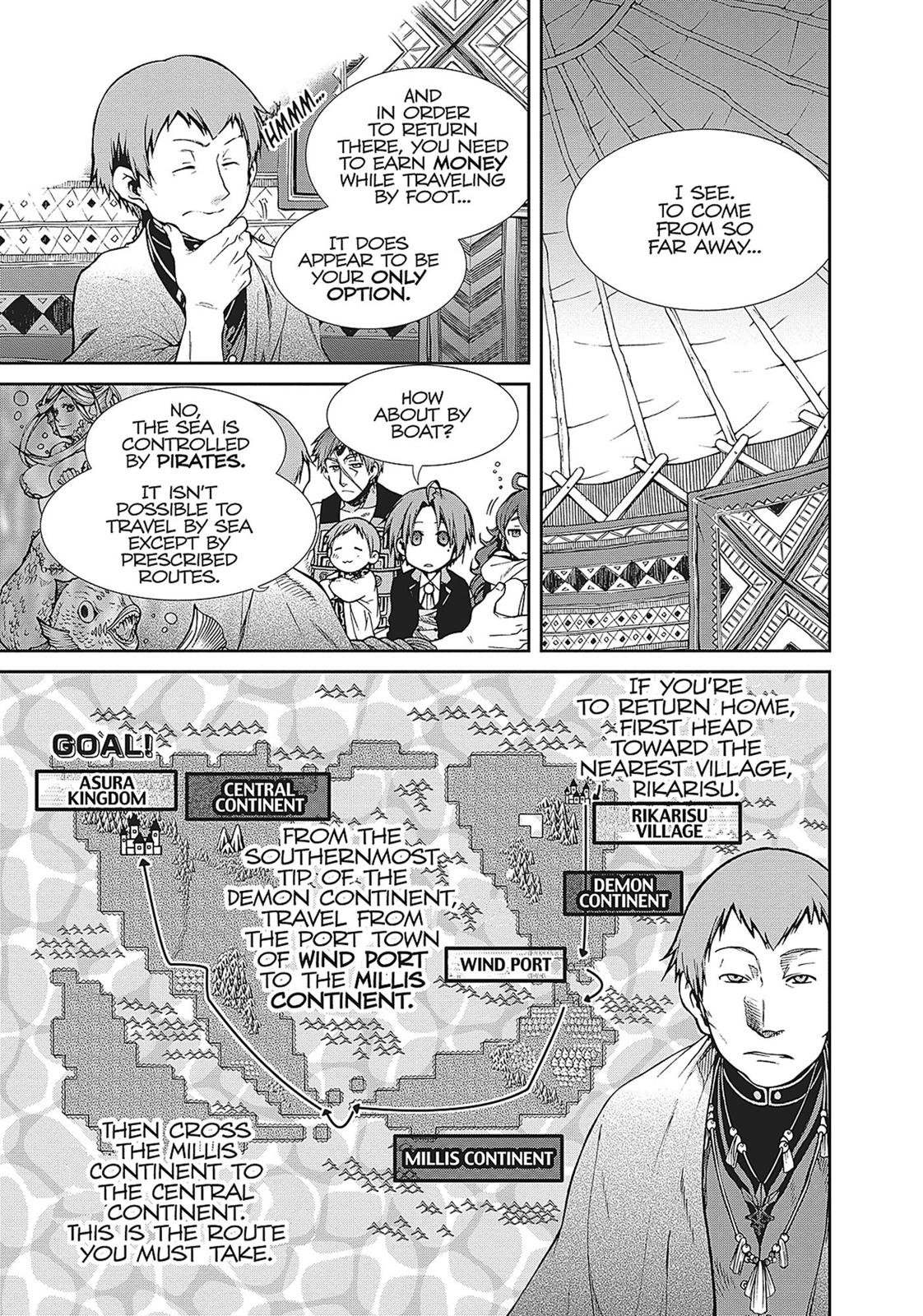 Mushoku Tensei, Chapter 19 image 009