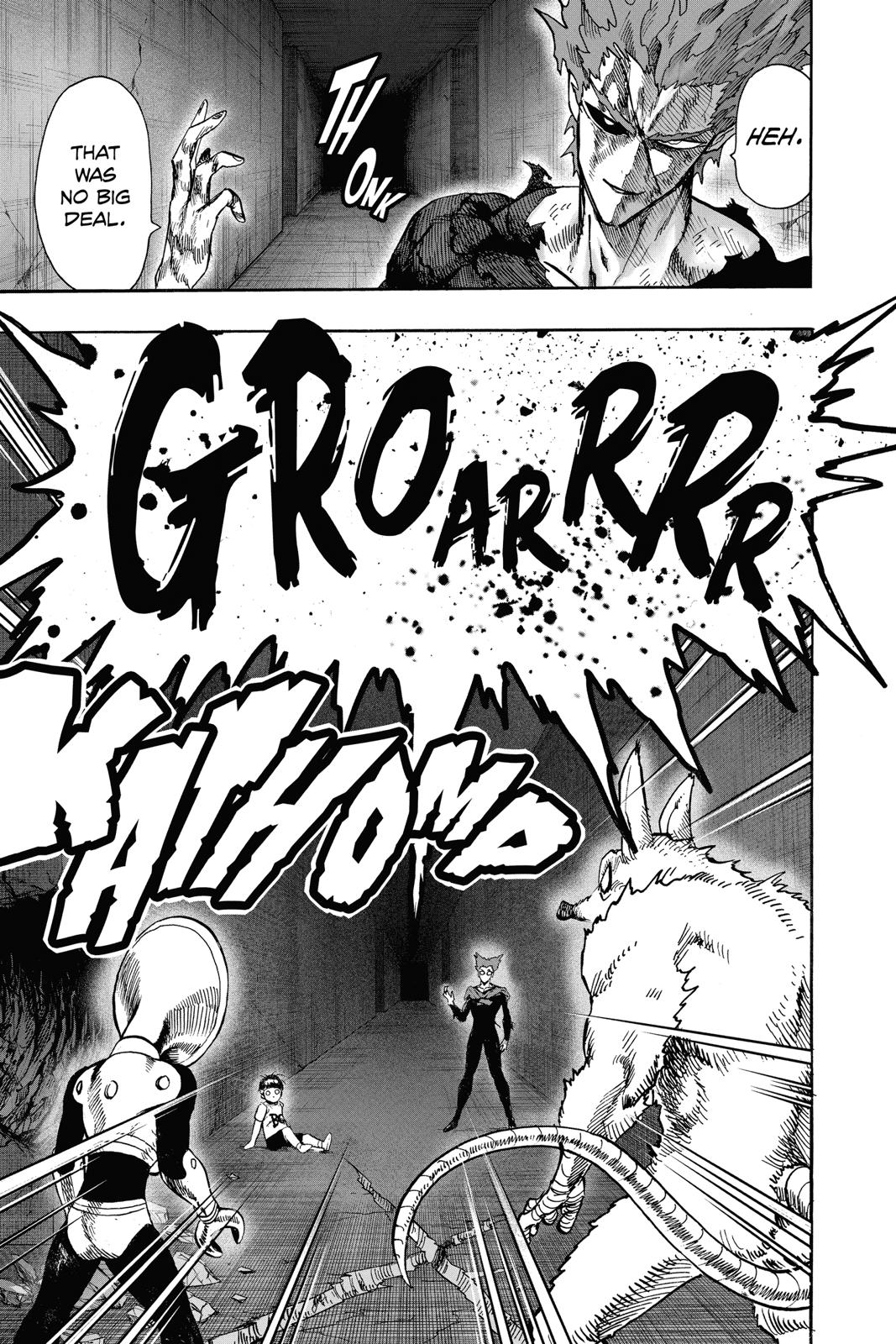 One-Punch Man, Chapter 93 image 023