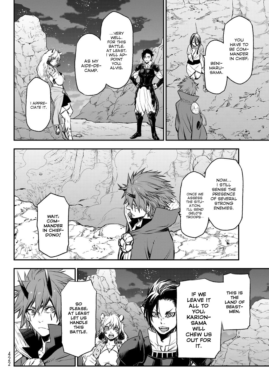 Tensei shitara Slime Datta Ken, Chapter 78 image 037