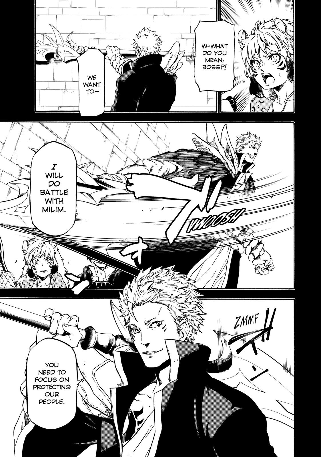 Tensei shitara Slime Datta Ken, Chapter 70 image 003