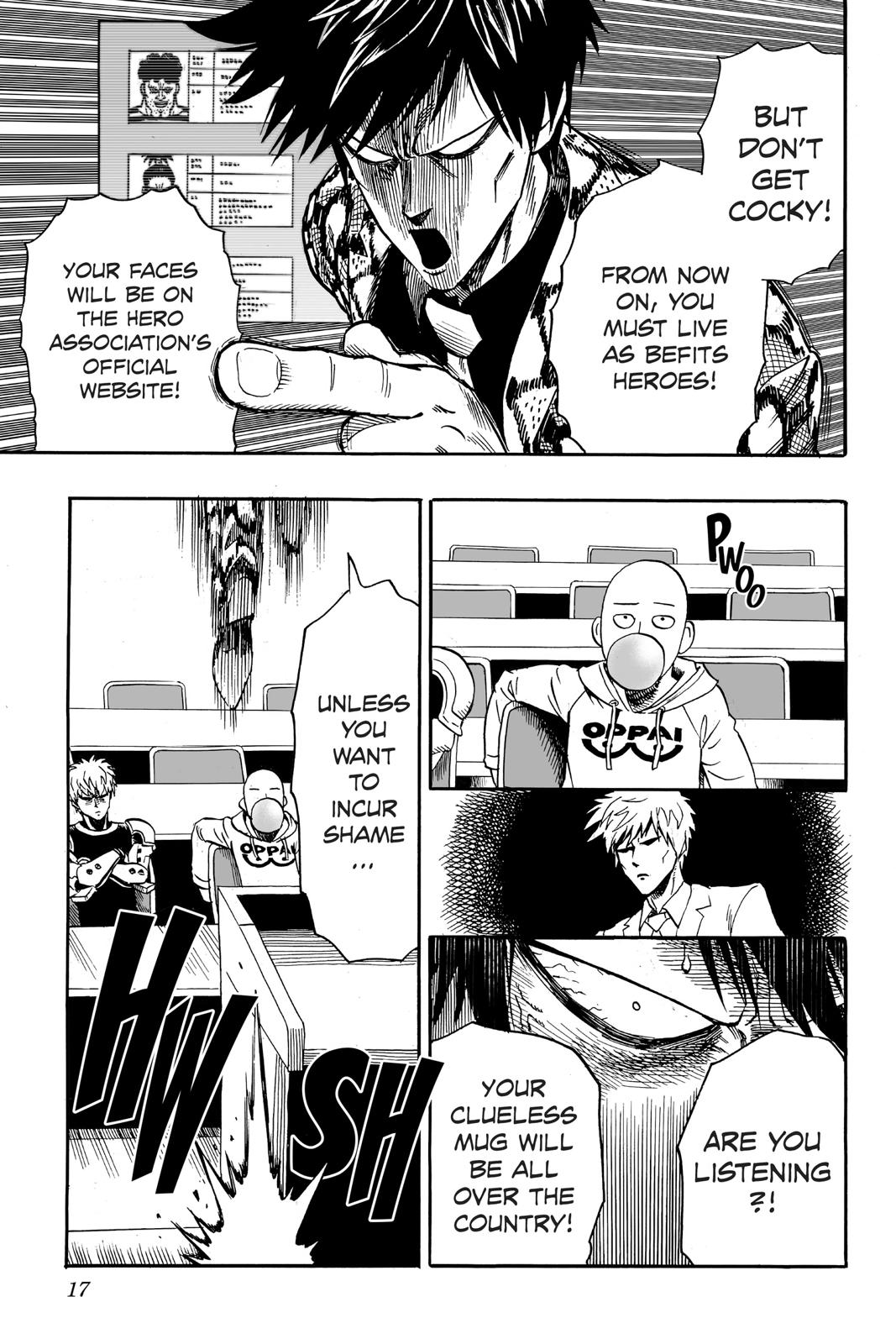 One-Punch Man, Chapter 16 image 017