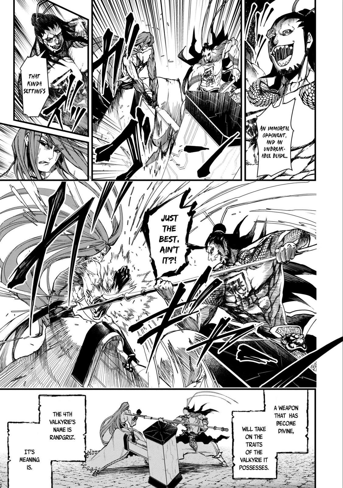 Shuumatsu no Valkyrie, Chapter 3 image 031