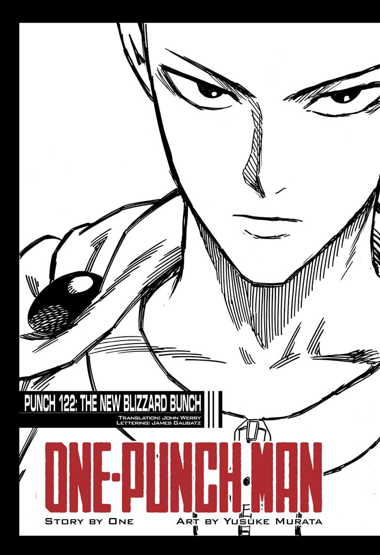 One-Punch Man, Chapter 122 image 001