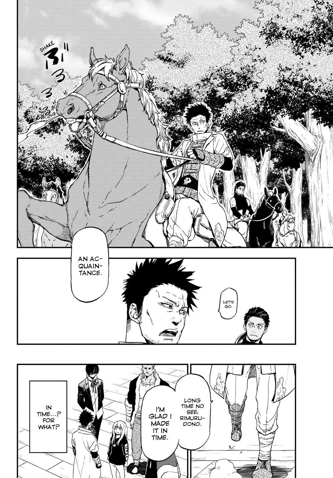 Tensei shitara Slime Datta Ken, Chapter 74 image 002