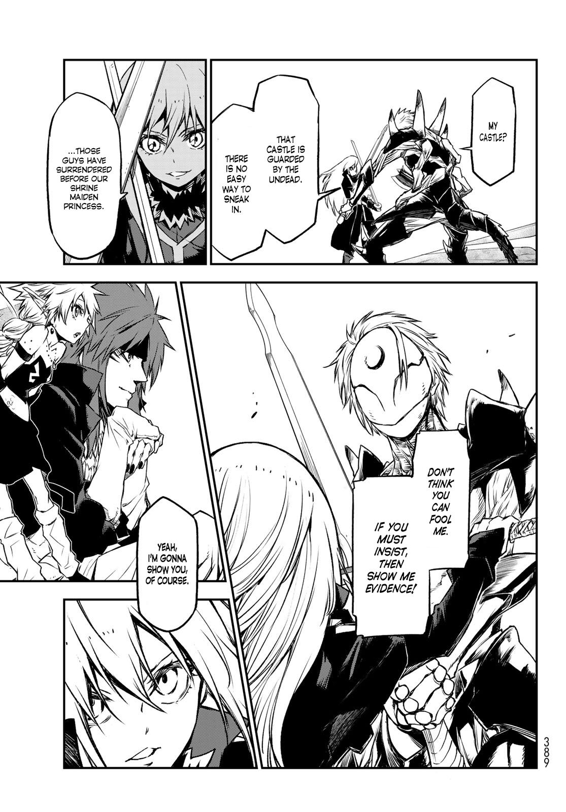 Tensei shitara Slime Datta Ken, Chapter 84 image 005