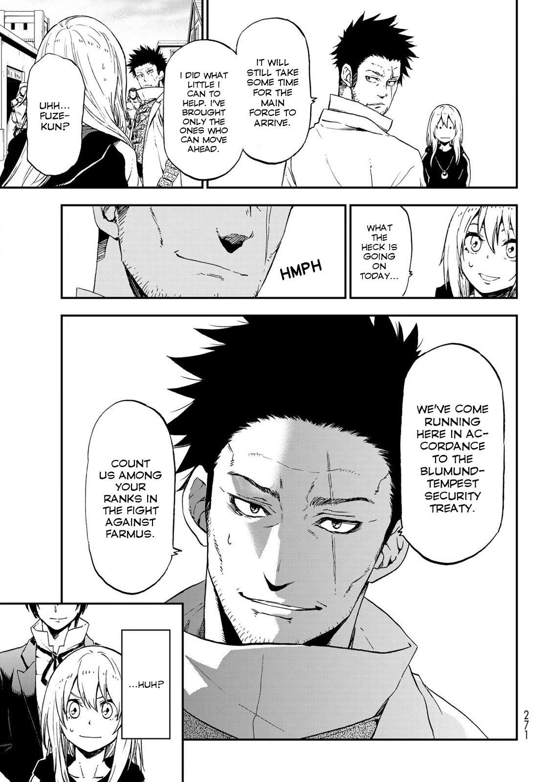 Tensei shitara Slime Datta Ken, Chapter 74 image 003