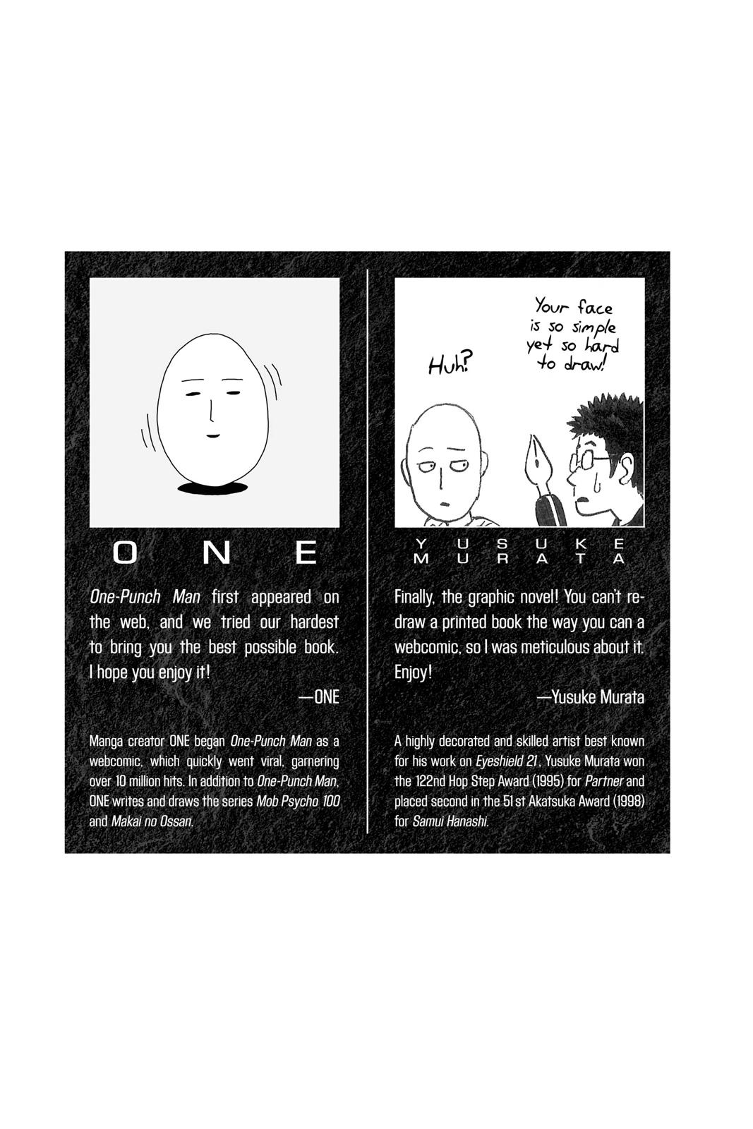 One-Punch Man, Chapter 1 image 002