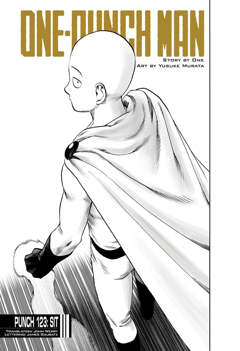 One-Punch Man, Chapter 123 image 001