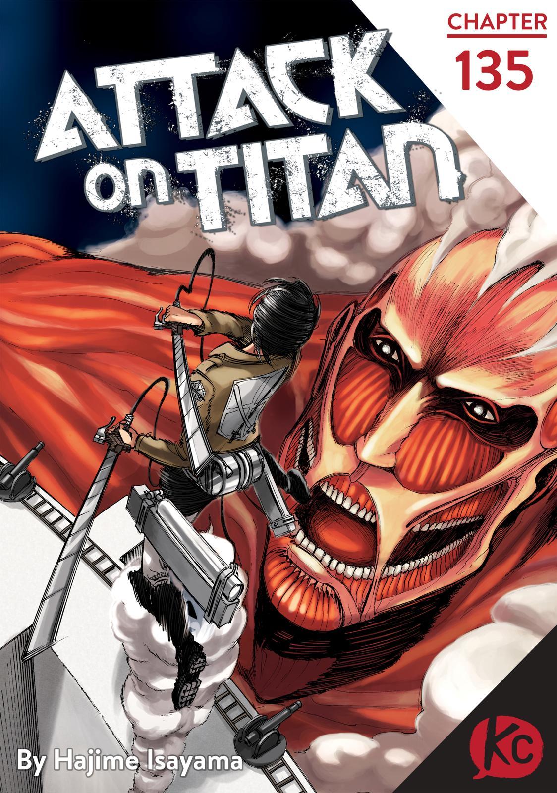 Attack On Titan, Episode 135 image 001