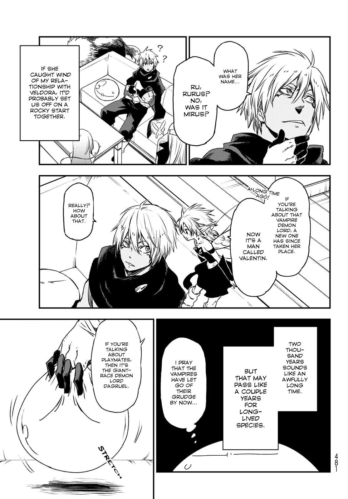 Tensei shitara Slime Datta Ken, Chapter 77 image 035