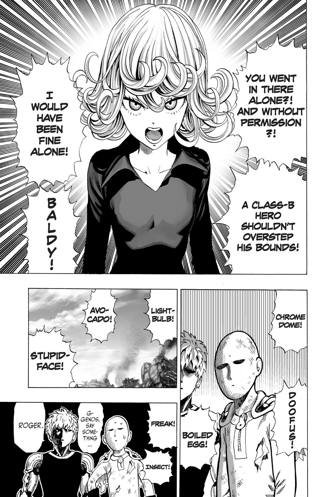 One-Punch Man, Chapter 37 image 025
