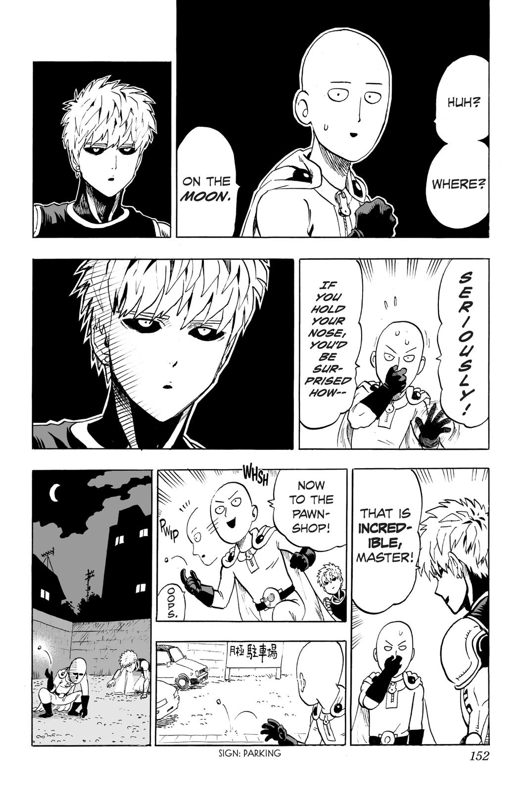 One-Punch Man, Chapter 37 image 034