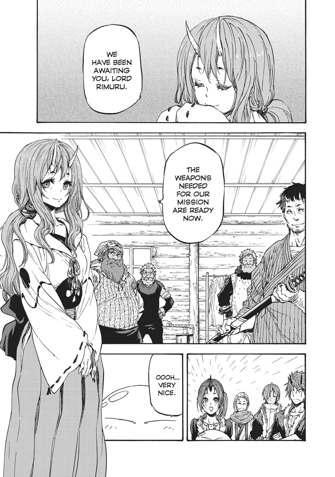 Tensei shitara Slime Datta Ken, Chapter 20 image 001