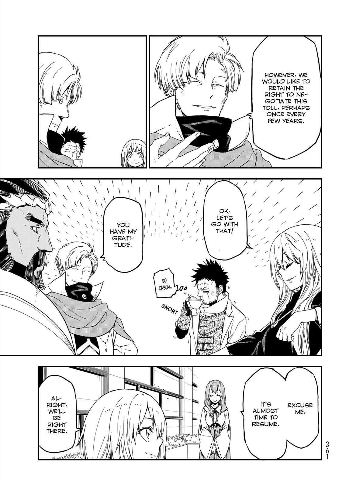 Tensei shitara Slime Datta Ken, Chapter 75 image 013