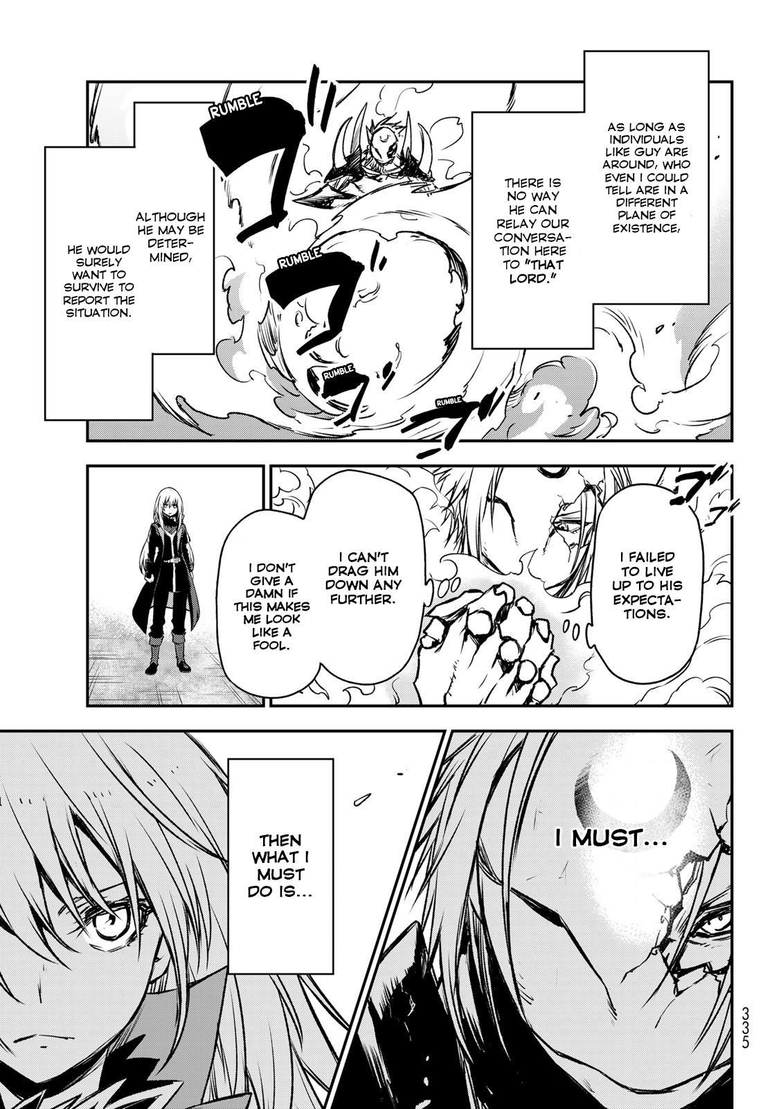 Tensei shitara Slime Datta Ken, Chapter 85 image 008