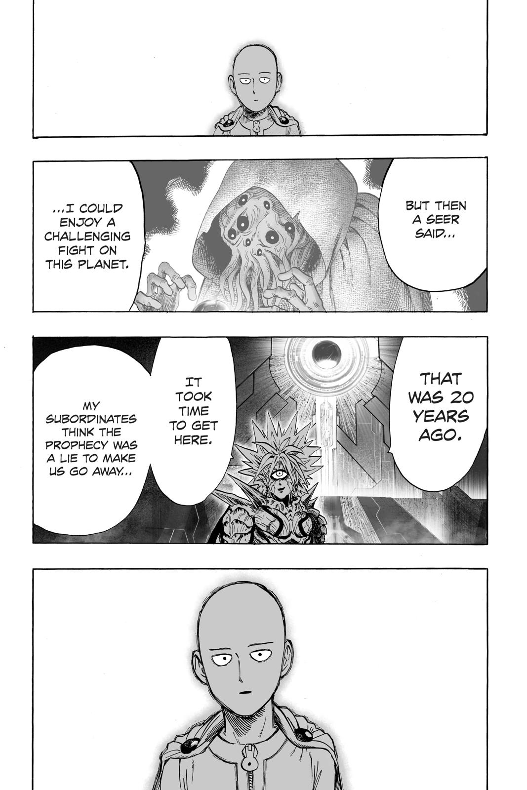 One-Punch Man, Chapter 34 image 009