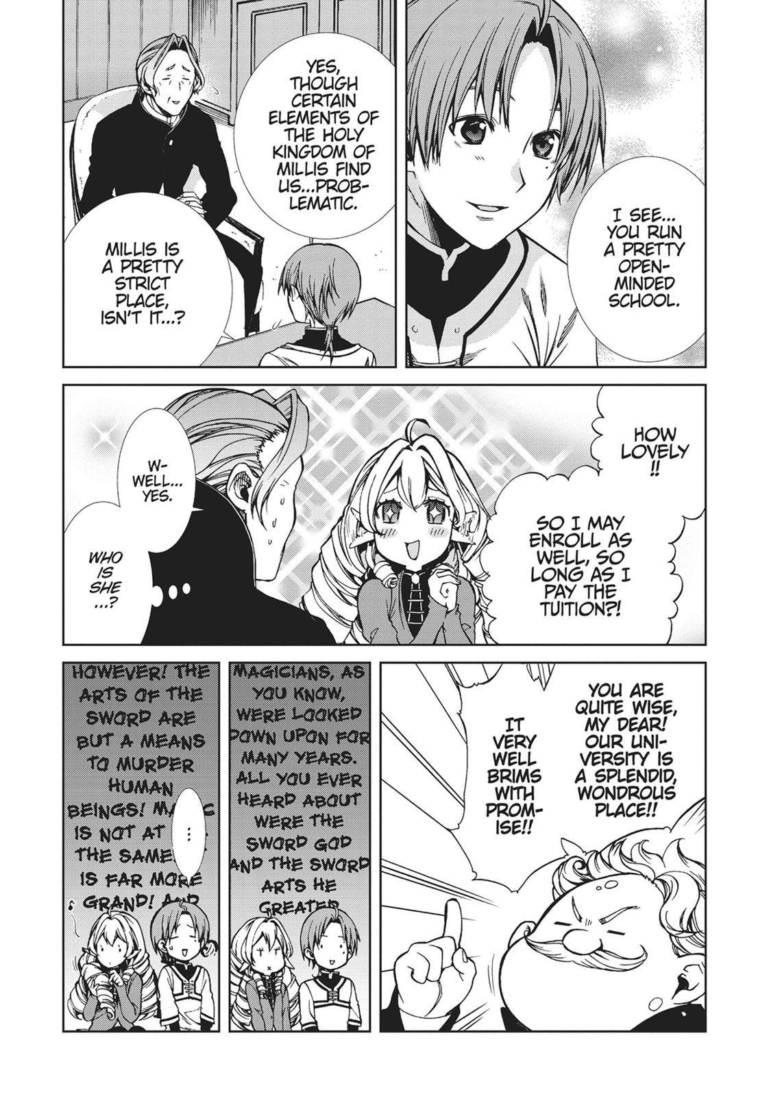 Mushoku Tensei, Chapter 54 image 008