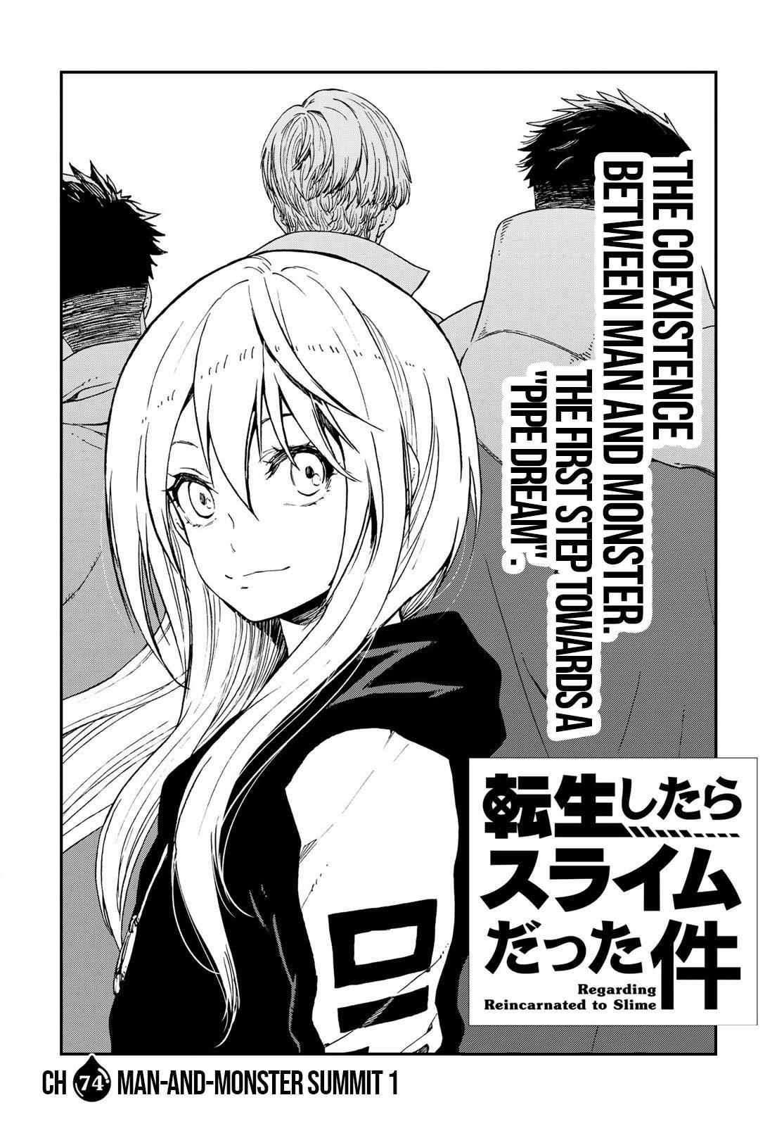 Tensei shitara Slime Datta Ken, Chapter 74 image 004
