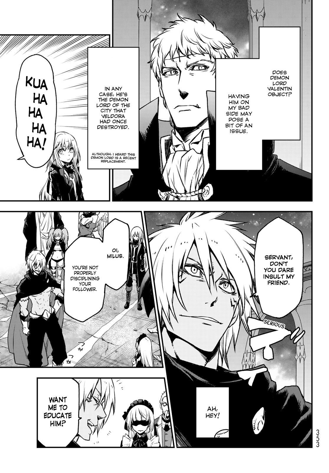 Tensei shitara Slime Datta Ken, Chapter 85 image 025