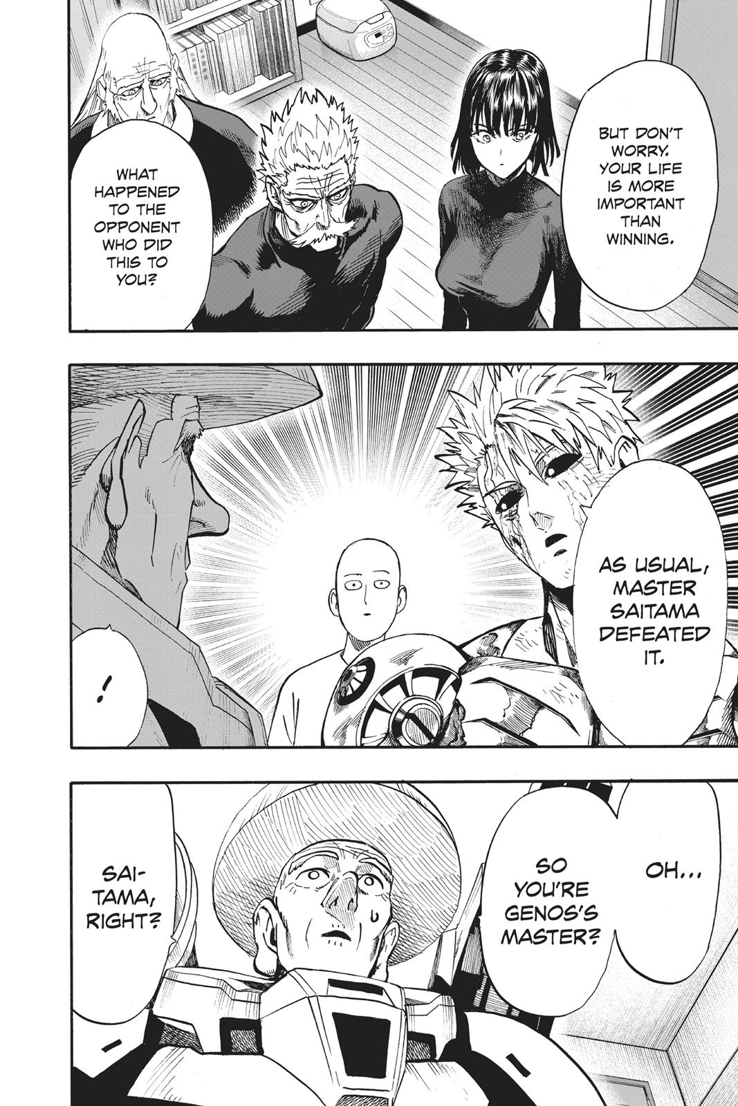 One-Punch Man, Chapter 90 image 020