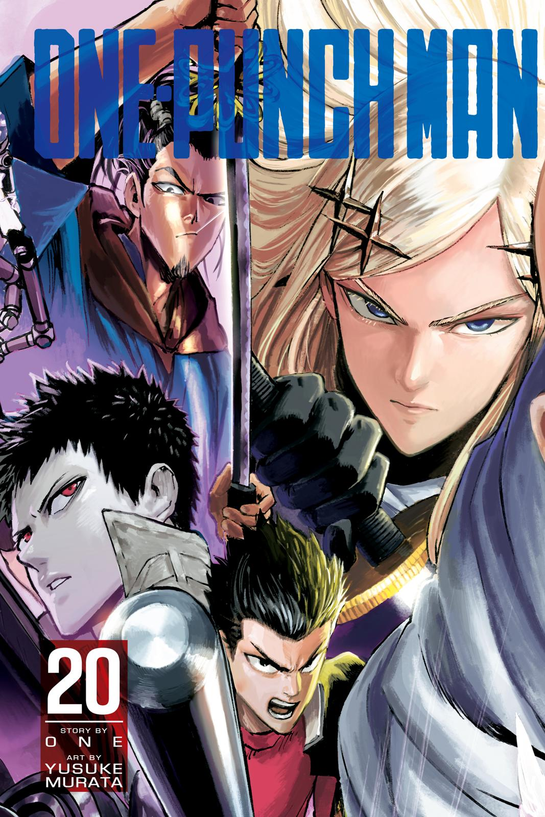 One-Punch Man, Chapter 95 image 001